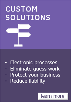 Custom Solutions - learn more